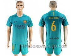 http://www.nikejordanclub.com/barcelona-6-aleix-vidal-sec-away-soccer-club-jersey.html BARCELONA #6 ALEIX VIDAL SEC AWAY SOCCER CLUB JERSEY Only $20.00 , Free Shipping!