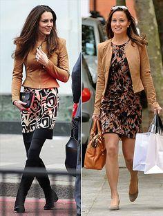 COVERED UP   photo | Kate Middleton, Pippa Middleton
