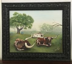 Texas Longhorns, Longhorn Painting