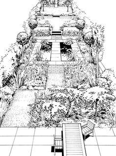 Gardens, Garden Design, Landscape Design, Gardening, Tuinen ...