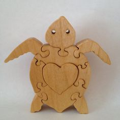 Hey, I found this really awesome Etsy listing at https://www.etsy.com/listing/188296630/sea-turtle-wood-puzzle-4-34-tall