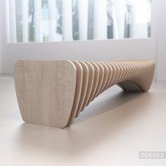 Дизайнерская скамейка - дизайнерская мебель от дизайн-бюро ODESD2