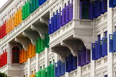 The MICA Building The colourful shutters of the... | The Khooll