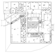 Seattle Central Library, Library Plan, Rem Koolhaas, Floor Plans, Public, How To Plan, Gallery, Building, Photograph