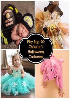 Etsy Top 20: Children's Halloween Costumes