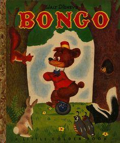 Walt Disneys Bongo    Illustrated by Campbell Grant