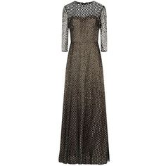 Escada Glanit Embellished Evening Gown ($13,005) ❤ liked on Polyvore featuring dresses, gowns, formal evening dresses, long gowns, long formal gowns, long formal evening dresses and formal evening gowns
