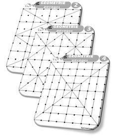 Géométrie CP Modèles à tracer avec les Formographes de