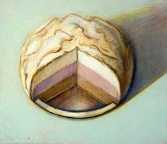 Neapolitan Meringue by Wayne Thiebaud - Smithsonian American Art Museum