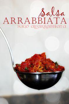 LAS SALSAS DE LA VIDA: Salsa arrabbiata http://www.pinterest.com/juliydavi/salsas-cremas-ali%C3%B1os-mouses/