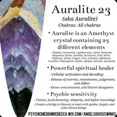 Auralite 23 crystal meaning