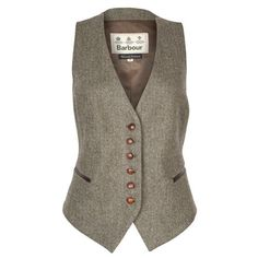 Barbour Thornton Tweed Waistcoat - Vests & Gilets - Clothing - Ladies - William Powell Ltd