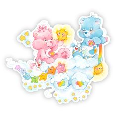 Walls 360 Peel Stick Fabric Wall Decals Care Bears Cloud Stars 24 in x 215 in >>> You can get additional details at the image link. Care Bears, Care Bear Party, Garfield And Odie, Baby Hug, Star Cloud, Dibujos Cute, Memorial Tattoos, Rainbow Brite, Old Cartoons