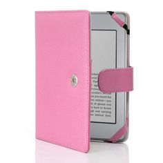 i-BLASON Premium Pink Leather 5 Colors Available for Kindle Touch Leather Cover Amazon Kindle Touch 3G Case Pink by i-BLASON. $14.99