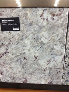 Photo Gallery For Website Moon White granite very much like Kashmir White but less speckly and more swirly