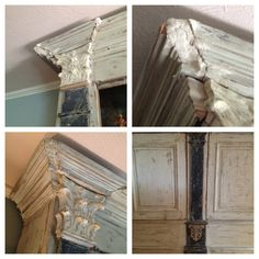 A French cabinet restoration love affair–with an amazing history and beautiful details. Faux finished with Sherwin Williams Duration colors. http://www.houzz.com/pro/creativepaintinganddesign