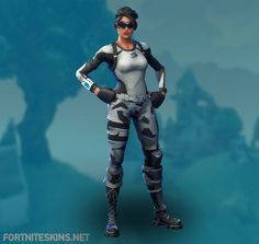 Arctic Assassin Outfit in Fortnite Battle Royale.