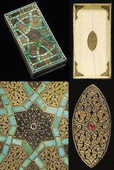 16th century Ottoman gem-set box.