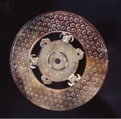1. This is a Jade disc 2. Han dynasty 3. Symbol of heaven's favor