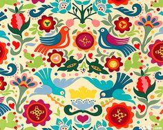 Folklorico La Paloma fabric