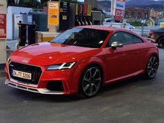 futur Audi TTRS 2016 vue avant