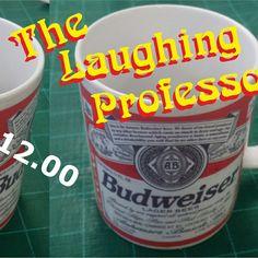 Who wants a bud'? #professor #personalized #mug