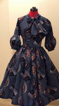 Top Ten Superb Ankara Styles Dress Designs 2017 - Dabonke : Nigeria Latest Gist and Fashion 2019 African Inspired Fashion, Latest African Fashion Dresses, African Print Dresses, African Print Fashion, Africa Fashion, African Dress, Fashion Prints, Ankara Fashion, African Prints