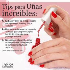 Consejos para una #manicura perfecta #uñas Manicure Y Pedicure, Nail Bar, Perfect Nails, Gel Nail Polish, Nail Tips, Beauty Nails, Summer Nails, Home Remedies, Body Care