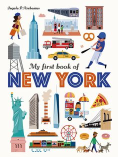 Buy My First Book of New York by Ingela P Arrhenius at Mighty Ape NZ. See all the iconic sights of New York in this stylish big picture book from Ingela P. There's so much to see in New York! Take a yellow ta. Bunny Book, Big Words, New York, Toddler Books, Penguin Random House, Kids Boxing, Stories For Kids, Nonfiction Books, Picture Books