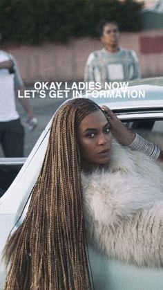 Beyoncé Formation Lockscreen