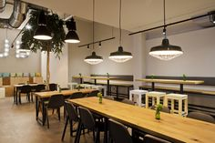 Jamy's Burger Restaurant by why the friday, Frankfurt – Germany » Retail Design Blog