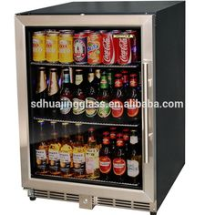 Supermercado tapa de vidrio de doble puerta mini nevera refrigerada maquina refrigerador congelador curvada isla congelador-Congeladores -Identificación del producto:60222318242-spanish.alibaba.com