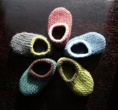 Descarga instantánea PDF tejer patrón lana bebé por HandKnitHugs