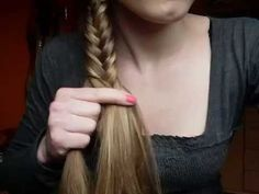 How To: Easy Fishtail Braid/Plait - YouTube