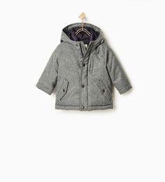 62f86f1fea7 Image 1 de Veste matelassée à capuche de Zara Two Year Olds, Baby Boy  Fashion