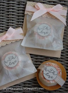 Packaging speciale per sapone al sale rosa hand Made
