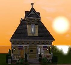Mod The Sims - Walnut - Tiny Victorian cottage