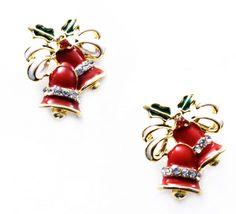 "Cercei ""Winter time"" - Meli Melo - Paris- Christmas time earrings"