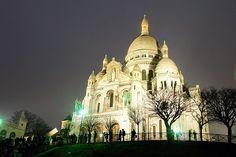Paris, Sacre Coeur, Igreja
