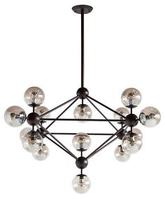 Viega 15-Light Pendant, Bronze | Effortless, Refined Style  | One Kings Lane
