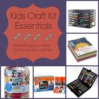 Creating a versatile craft kit is a great way to make sure your kids never run out of fun activities to do! Check out this list of essentials for your kit!
