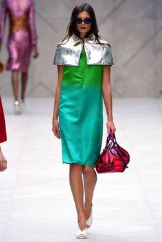 Burberry Spring 2013 Ready-to-Wear Fashion Show - Ava Smith