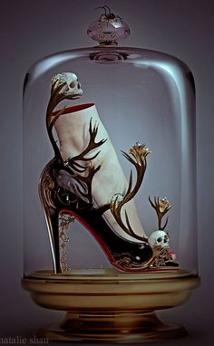 Natalie Shau shoes | Most Precious, Beautiful, Fairy Tale Shoes! These aren't real shoes, but I would totally buy a pair