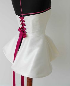 Corset back dress/top/thing. Cute and I love it. :)