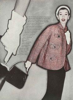 Barbara Mullen, February Vogue 1955