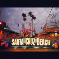 Santa Cruz Beach Boardwalk!!! I have been there so many times!!