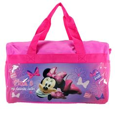 "Minnie Mouse ""Bowtique"" Duffle Bag/ Gym Bag/ Travel Bag, $12.99"