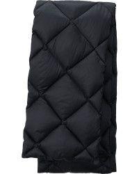 Black uniqlo down scarf - 15