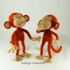 Вредины Анфиска и Василиска - Мои игрушечки - Галерея - Форум почитателей амигуруми (вязаной игрушки)