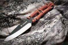 Paracord knife by Emberkraft on Etsy